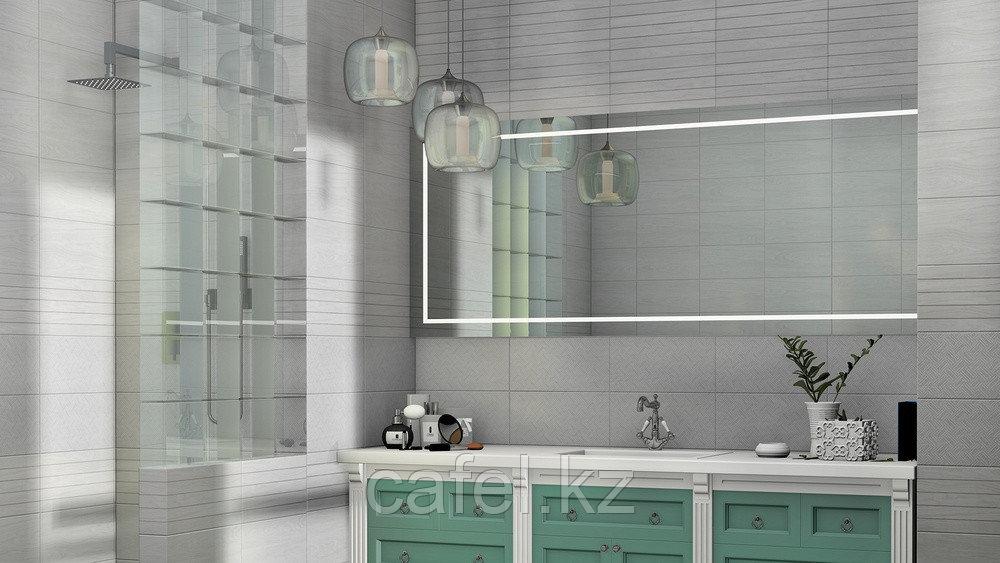 Кафель | Плитка настенная 20х40 Кемпас | Cempas серый