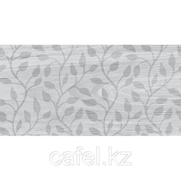 Кафель | Плитка настенная 20х40 Кемпас | Cempas серый листья