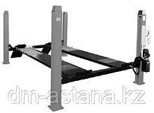 Электрогидравлический четырехстоечный подъемник г/п 4000 кг. Ровные платформы: 4600х540 мм OMA 524