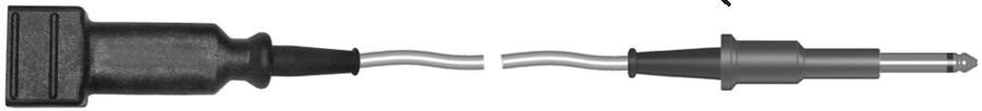 """ЕН234.1-2 Держатель нейтрального электрода """"джек"""". Длина кабеля 3 м (ФОТЭК)"""