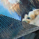 NAR СЕТКА 1.52мх50м 140g ONE WAY VISION (перфорированная пленка), фото 2