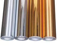 Самоклеющийся пленка (золото/серебро 1,27*30M