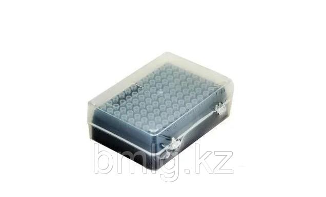 Наконечники 50 мкл стерильные, в штативе с фильтром 96 шт/уп, Axyste