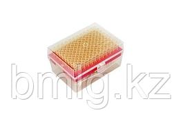 Наконечники 100 мкл стерильные, в штативе с фильтром 96 шт/уп, Axyste