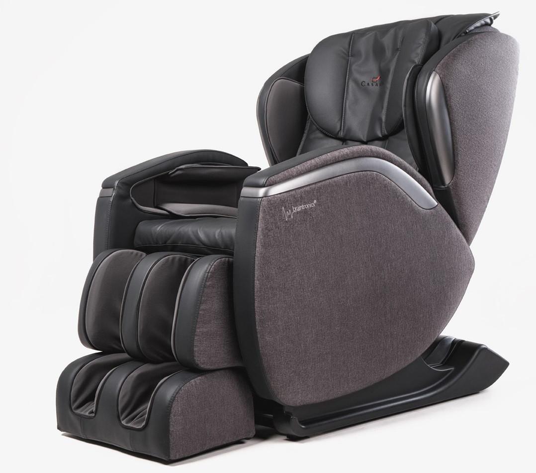 Массажное кресло Casada Hilton III Dark Grey