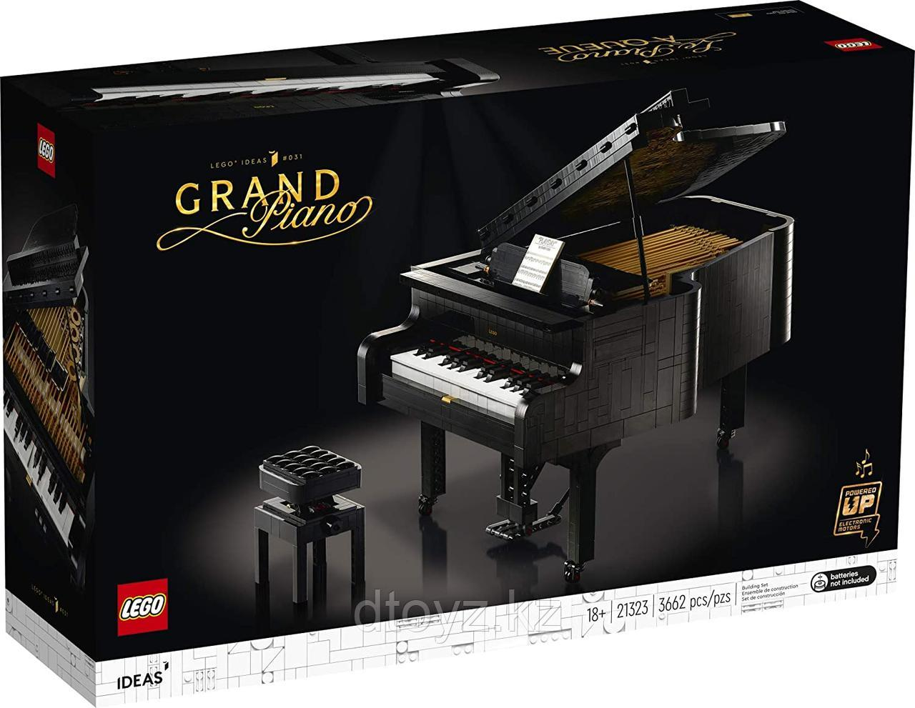 Lego Ideas 21323 Рояль Grand Piano