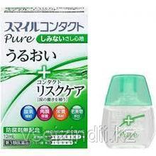 Глазные капли для контактных линз свежесть 0 Contact Pure 12мл