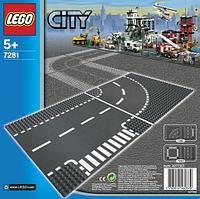 LEGO Игрушка LEGO Город Т-образная развязка -