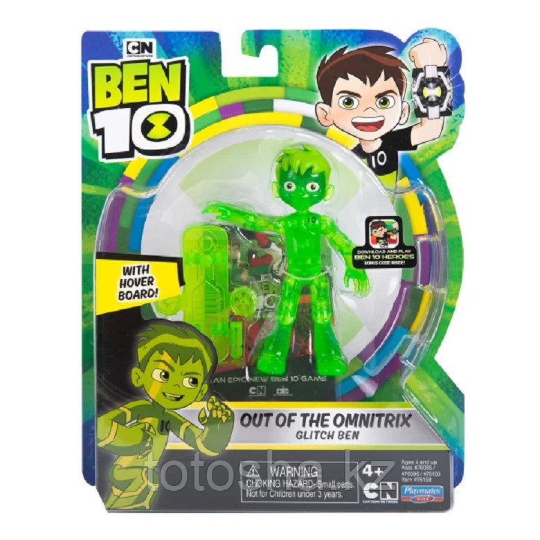 """Ben 10 """"Бен из Омнитрикс"""" фигурка 12.5 см, 76158"""