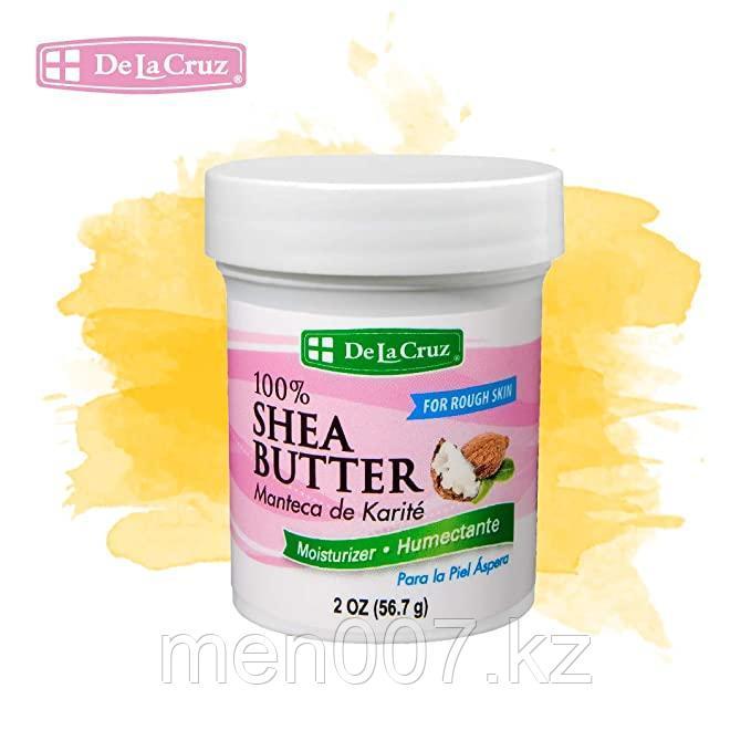 De La Cruz, 100% масло ши, увлажняющий крем (56,7 г)