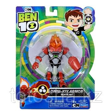 """Ben 10 """"Бронированный Человек-огонь"""" фигурка 12.5 см, 76146"""