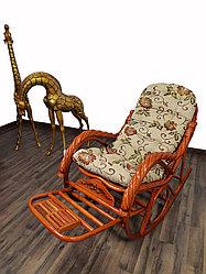 Кресло качалка из ротанги (плетен.) (RTN-049)