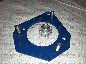 Плита под стартер МТЗ с шестерней привода (для переоборудования трактора с ПД-10 на стартер)