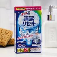 Очиститель для сеточки кухонной раковины, lion, с дезодорирующим эффектом 40 г * 2