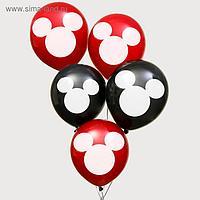 "Воздушные шары ""Mickey"", Микки Маус, 12 дюйм (набор 5 шт)"