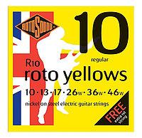 Струны для электрогитары Rotosound R10