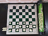 Набор шахмат переносной в тубусе 45х6.5, фото 1