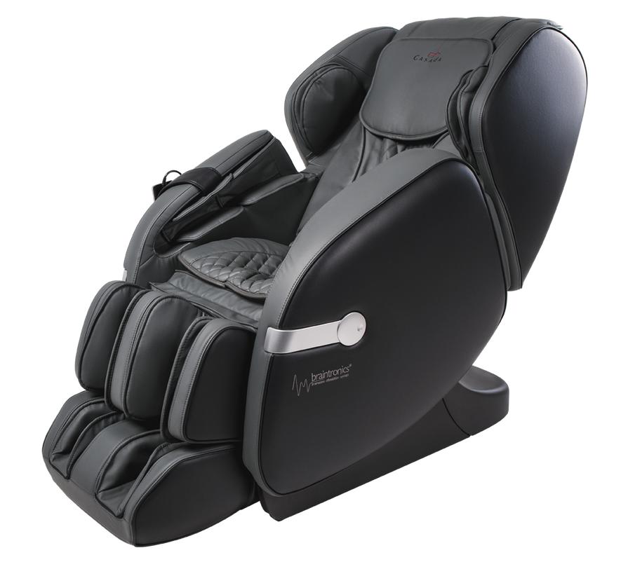 Массажное кресло Casada Betasonic 2 Grey Black