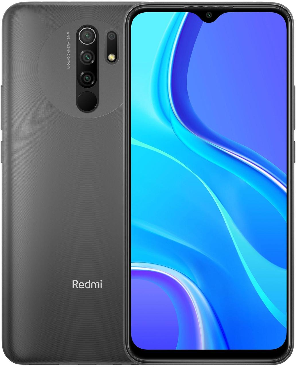 Xiaomi Redmi 9 3/32Gb Carbon Grey + кэшбэк 7%