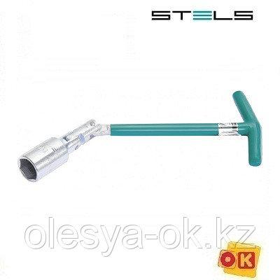 Ключ свечной карданный 21 х 250 мм. STELS, фото 2