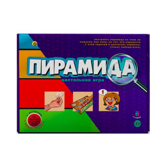 Настольная игра Рыжий кот Пирамида - фото 1