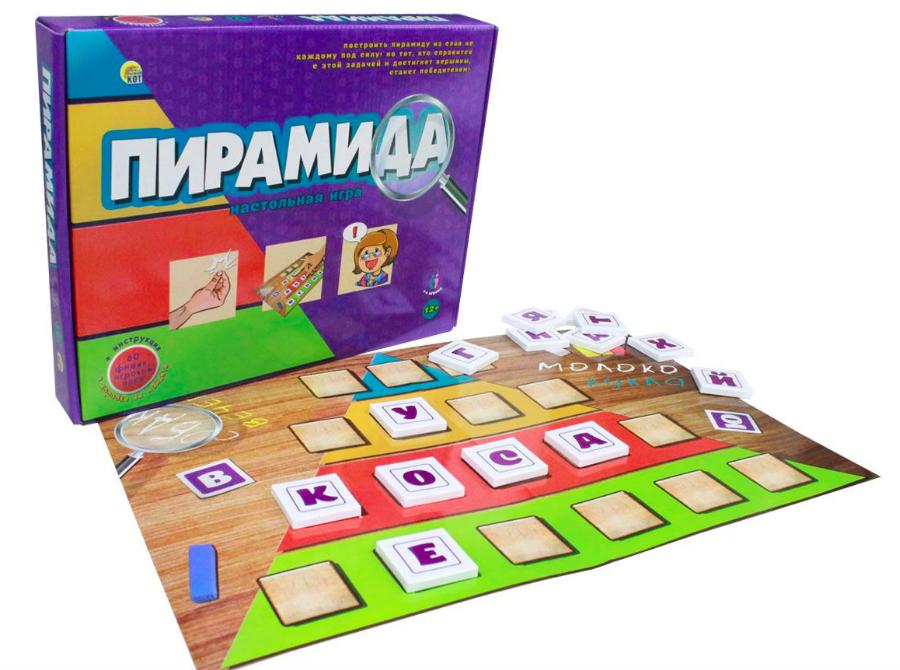 Настольная игра Рыжий кот Пирамида - фото 3
