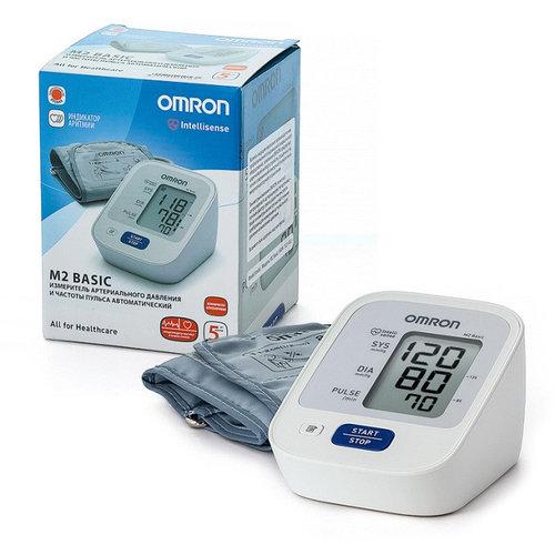 Тонометр OMRON M2 BASIC (RU) (манжета 22-32 см)