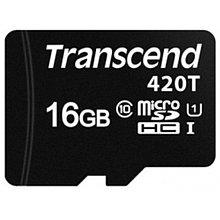 Transcend TS16GUSD420T Карта памяти MicroSD 16GB Class 10 U1 microSDHC/SDXC420T