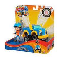 Rev&Roll EU881710 Фигрука+машинка (пластик) - Рев и Рамбл