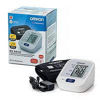 Тонометр OMRON M2 BASIC (ALRU) (манжета 22-42 см, адаптер)