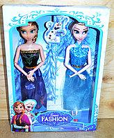 Упаковка помята!!! YX013 Кукла Sweet Fashion 2 в 1 Холодное сердце 33*23см, фото 1