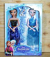 Упаковка помята!!! YX013 Кукла Sweet Fashion 2 в 1 Холодное сердце 33*23см, фото 2