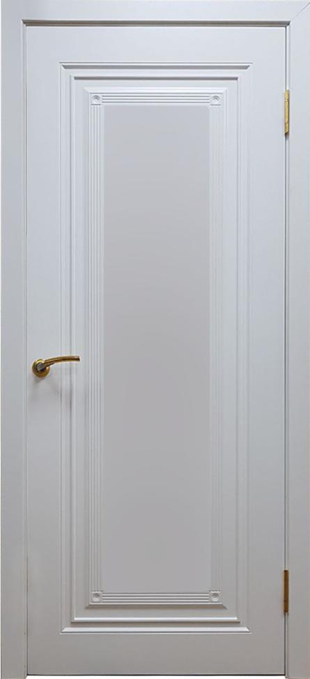 Межкомнатная  двери модель Флорида эмаль белая