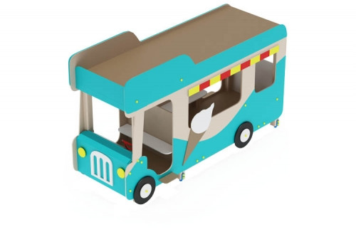 Беседка Автобус-мороженое