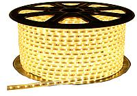 Светодиодная лента 5050/60 220V WARMWHITE 6.5W / M IP65 (TT)