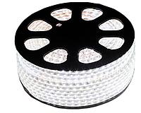 Светодиодная лента 5050/60 220V WHITE 6.5W / M IP65 (TS)