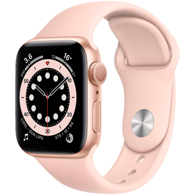 Apple Watch Series 6 GPS, 40mm Gold