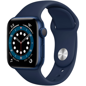 Apple Watch Series 6 GPS, 44mm Blue Aluminium