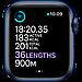 Apple Watch Series 6 GPS, 44mm Blue Aluminium, фото 4