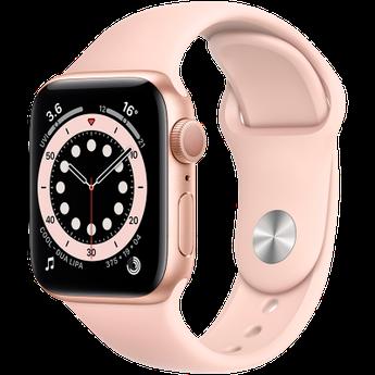 Apple Watch Series 6 GPS, 44mm Gold Aluminium