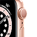Apple Watch Series 6 GPS, 44mm Gold Aluminium, фото 2