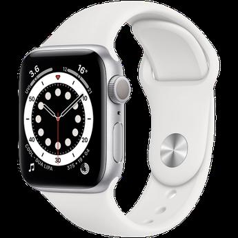 Apple Watch Series 6 GPS, 44mm Silver Aluminium