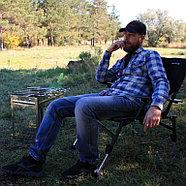Раскладное кресло с неопреновой спинкой, фото 8