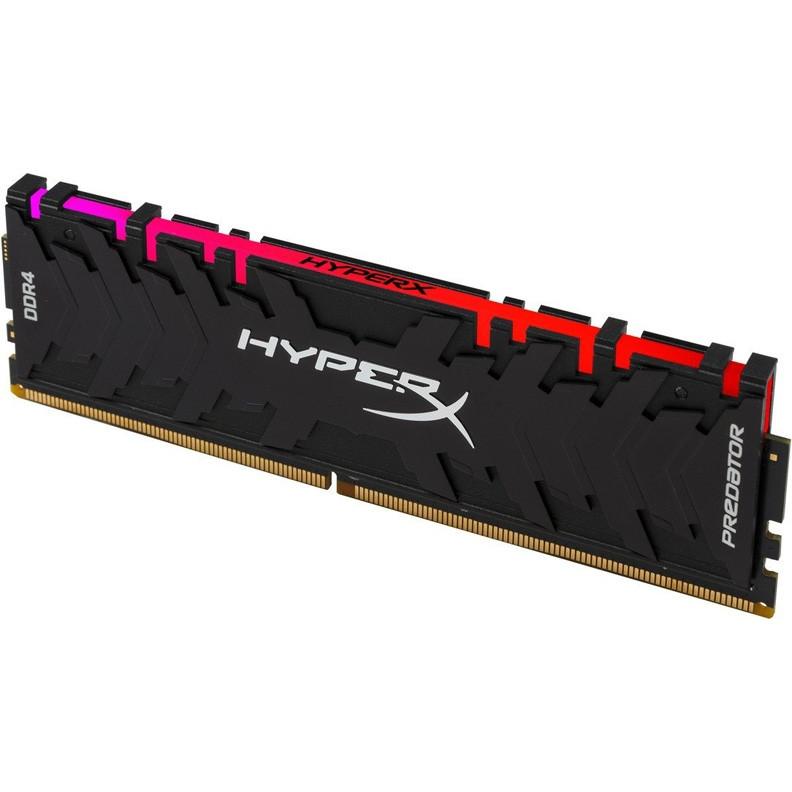 ОЗУ Kingston HyperX Predator RGB 8GB 3200MHz DDR4 CL16 DIMM XMP HX432C16PB3A/8