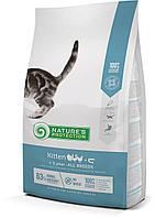 457578 Nature s Protection Kitten, сухой корм для котят до 1 года, уп.400гр.