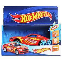 Hot Wheels Металлическая модель Спорткар, 12 см. (звук)