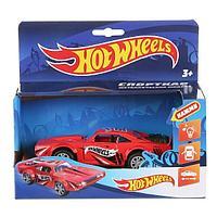 Hot Wheels Металлическая модель Спорткар Родстер, 12 см. (звук)