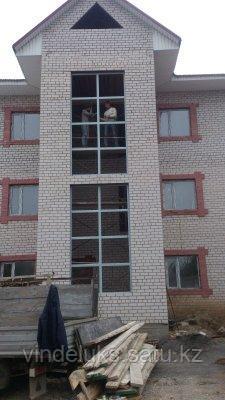 Остекление балконов многоэтажного дома - фото 3