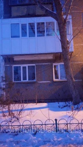 Остекление балконов многоэтажного дома - фото 4