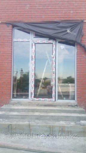 Алюминевые входные двери - фото 2